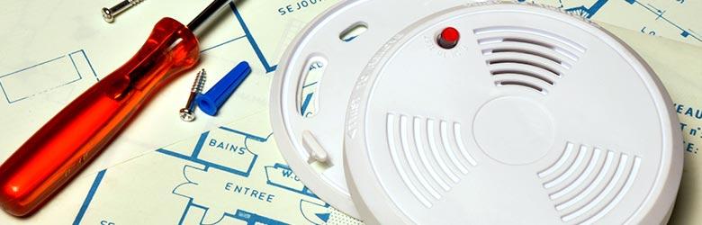 où installer un détecteur de fumée