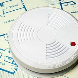 détecteur de fumée nf